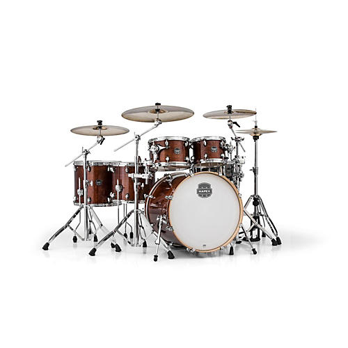 Mapex Armory Series 6-Piece Studioease Shell Pack Fast Toms Transparent Walnut