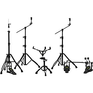 Mapex Armory Series HP8005-DP 5-Piece Hardware Pack with Double Pedal by Mapex
