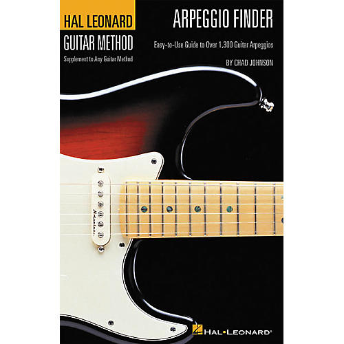 Hal Leonard Arpeggio Finder for Guitar Book-thumbnail