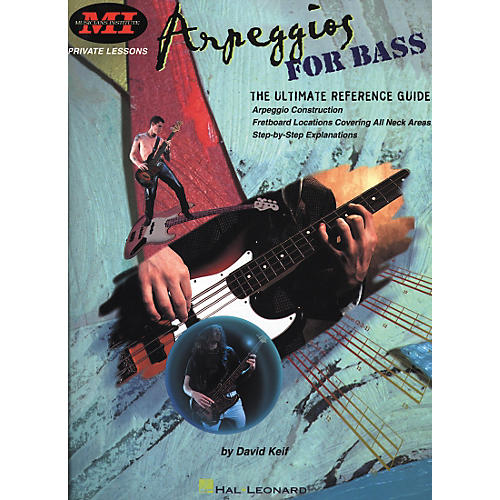 Hal Leonard Arpeggios for Bass Book-thumbnail