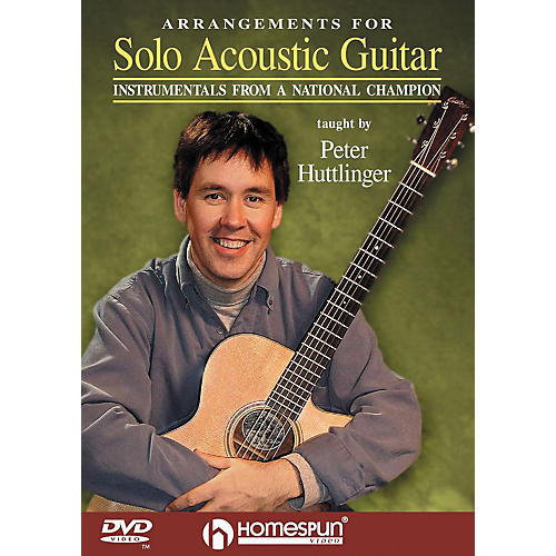 Homespun Arrangements for Solo Acoustic Guitar (DVD)-thumbnail
