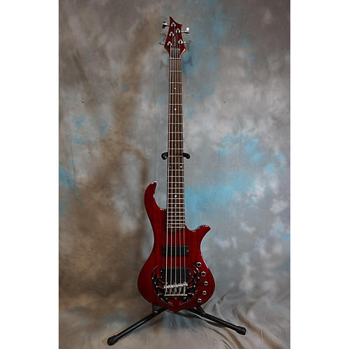 Traben Array Limited Candy Apple Red Electric Bass Guitar