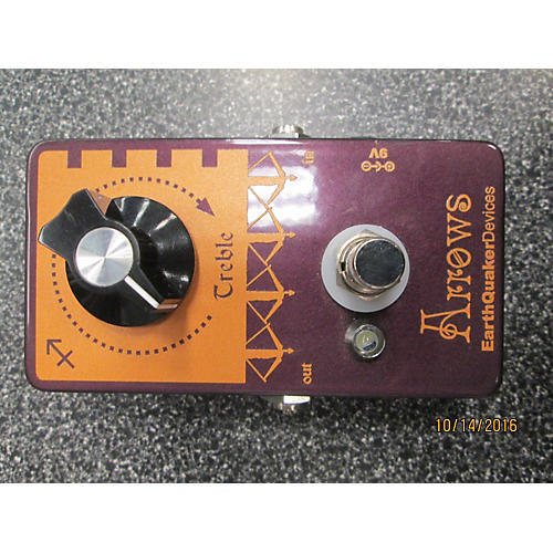 Earthquaker Devices Arrows Preamp Booster Effect Pedal