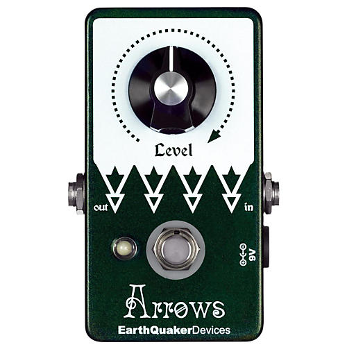 Earthquaker Devices Arrows Preamp Booster Guitar Effects Pedal