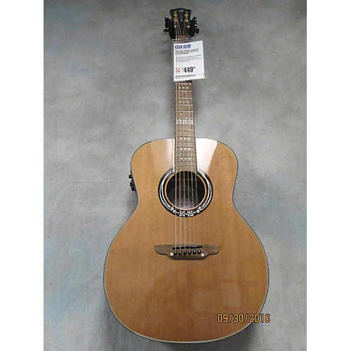 Luna Guitars Art Craftsman Acoustic Electric Guitar