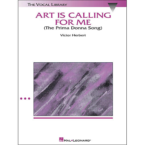 Hal Leonard Art Is Calling for Me (The Prima Donna Song) (From The Enchantress) High Voice-thumbnail