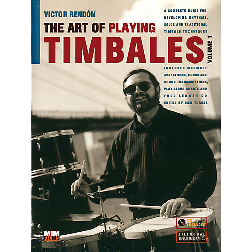 Alfred Art Of Playing Timbales 1 - Victor Rendon (Book/CD)-thumbnail