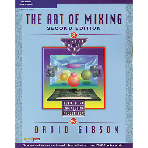 Course Technology PTR Art of Mixing 2nd Edition Book-thumbnail