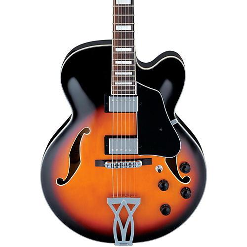 Ibanez Artcore AF75 Hollowbody Electric Guitar Brown Sunburst