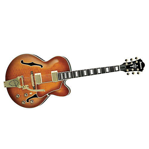 Ibanez Artcore Expressionist AF95 Hollowbody with Bigsby Style Tremolo Electric Guitar-thumbnail