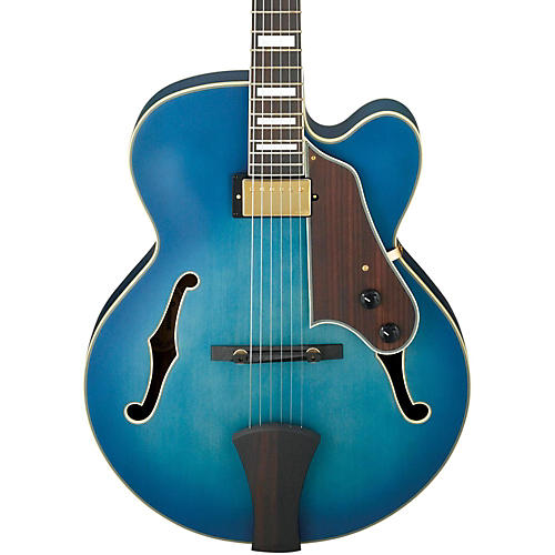 Ibanez Artcore Expressionist AFJ91 Hollowbody Electric Guitar Flat Jet Blue Burst Rosewood Fretboard