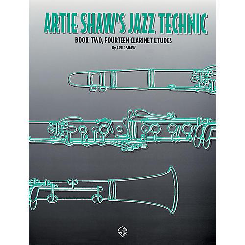 Alfred Artie Shaw's Jazz Technic Clarinet Book 2-thumbnail