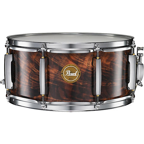 Pearl Artisan II Feathered Walnut Snare Drum - Limited Edition-thumbnail