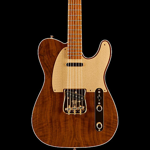 Fender Custom Shop Artisan Roasted Maple Telecaster with Claro Walnut Top Electric Guitar-thumbnail