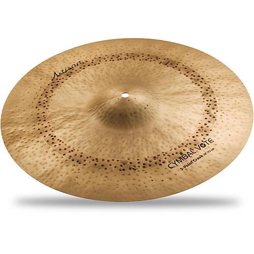 Sabian Artisan Series 3 Point Crash Cymbal