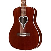 Fender Artist Design Series Alkaline Trio Malibu Mahogany Dreadnought Acoustic Guitar