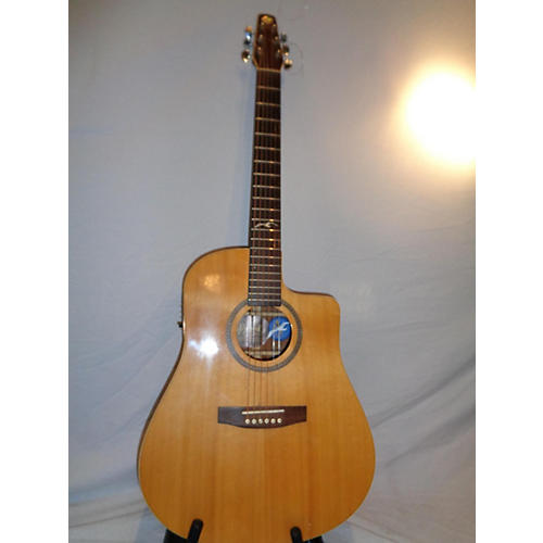 Seagull Artist Mahogany Spruce Acoustic Electric Guitar