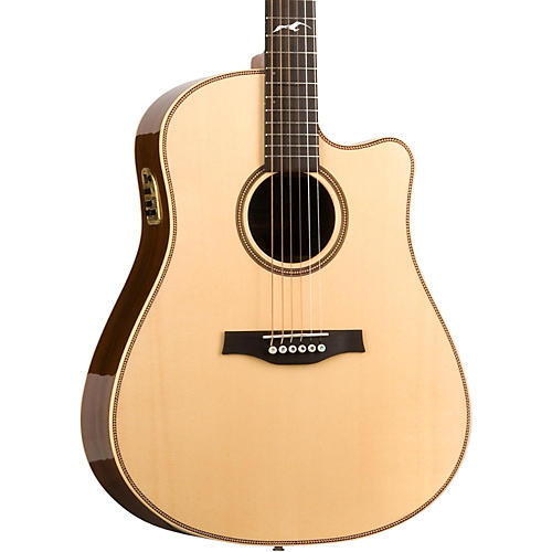 Seagull Artist Peppino Signature QII Cutaway Acoustic-Electric Guitar-thumbnail