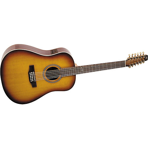 Seagull Artist Series 12-String Studio Dreadnought i-Beam Acoustic-Electric Guitar with Deluxe Case
