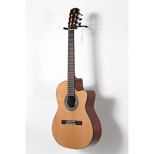 blemished alvarez artist series ac65hce classical hybrid acoustic electric guitar natural. Black Bedroom Furniture Sets. Home Design Ideas