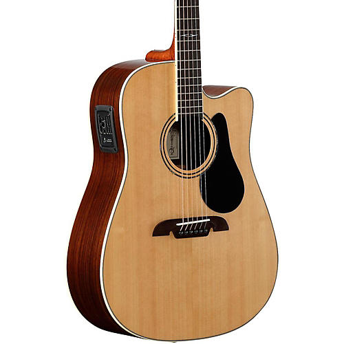 Alvarez Acoustic Electric Guitar : alvarez artist series ad70ce dreadnought acoustic electric guitar natural guitar center ~ Vivirlamusica.com Haus und Dekorationen