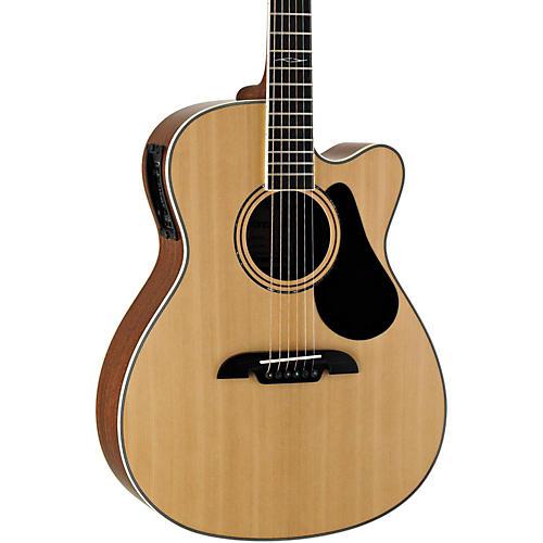 Alvarez Artist Series AF60CE Folk Acoustic-Electric Guitar-thumbnail