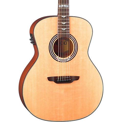 Luna Guitars Artist Series Deco All Solid Wood Grand Auditorium Acoustic-Electric Guitar