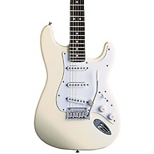 Artist Series Jeff Beck Stratocaster Electric Guitar Olympic White