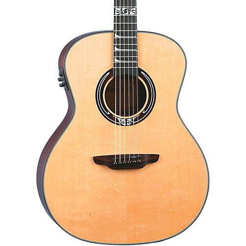 Luna Guitars Artist Series Nouveau All Solid Wood Grand Auditorium Acoustic-Electric Guitar