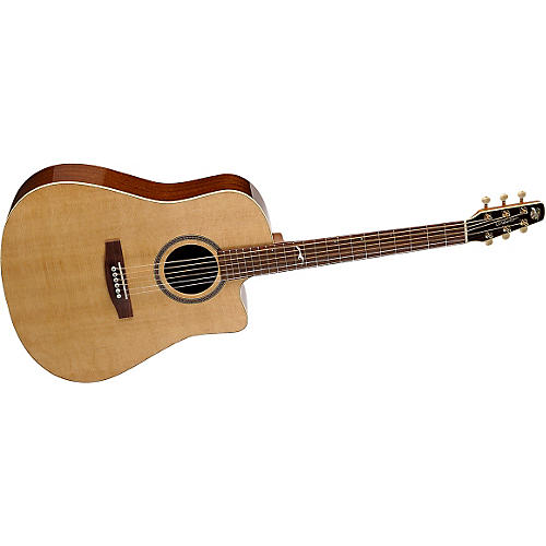 Seagull Artist Series Portrait Cutaway Acoustic Guitar-thumbnail