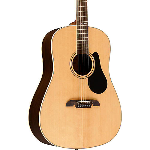Alvarez Artist Series Round Shouldered Slotted Headstock Solid Sitka Spruce Top Dreadnought Acoustic Guitar