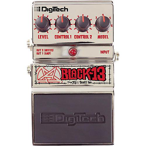 Digitech Artist Series Scott Ian Black-13 Guitar Multi Effects Pedal-thumbnail