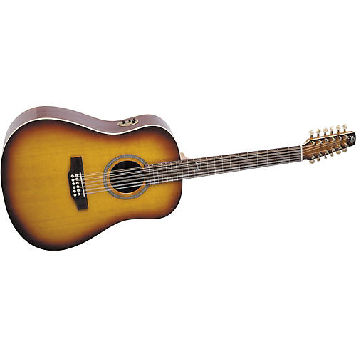 Seagull Artist Series Studio Dreadnought 12-String QII Acoustic-Electric Guitar with Deluxe Case