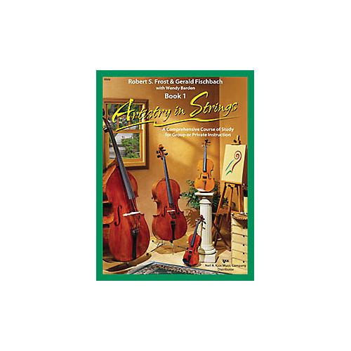 KJOS Artistry In Strings Book 1/CD Viola Book-thumbnail