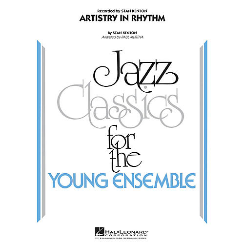 Hal Leonard Artistry in Rhythm Jazz Band Level 3 Arranged by Paul Murtha