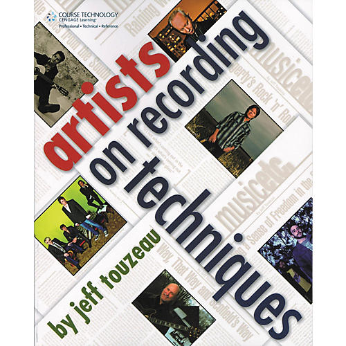 Course Technology PTR Artists on Recording Technique (Book)