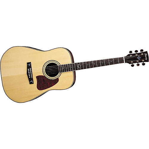 Ibanez Artwood AW300NT Solid Top Dreadnought Acoustic Guitar