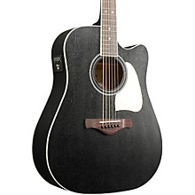 Ibanez Artwood AW360CEWK Solid Top Dreadnought Acoustic-Electric Guitar