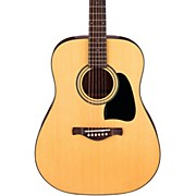 Ibanez Artwood Series AW50 Solid Top Dreadnought Acoustic Guitar