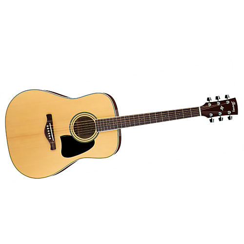 Ibanez Artwood Series AW70 Solid Top Dreadnought Acoustic Guitar-thumbnail