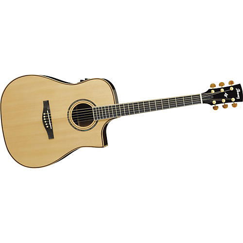 Ibanez Artwood Series AWS1000ECENT Dreadnought Cutaway Acoustic-Electric Guitar-thumbnail
