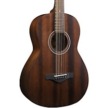 Ibanez Artwood Vintage AVN2-OPN All-Mahogany Parlor Acoustic Guitar