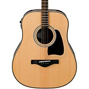 Ibanez Artwood Vintage AVT2E-NT Mini Dreadnought Acoustic-Electric Guitar