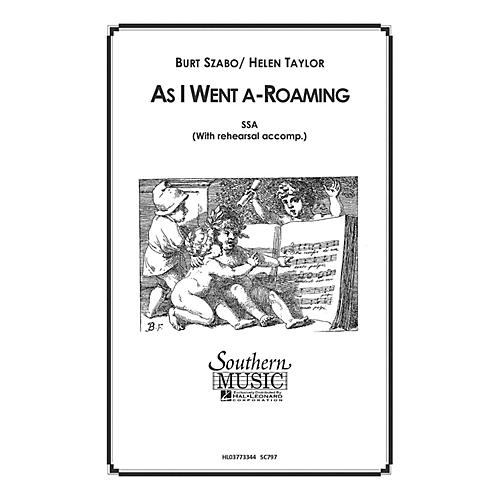 Hal Leonard As I Went A Roaming (Choral Music/Octavo Secular Ssa) SSA Composed by Szabo, Burt