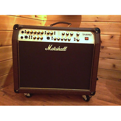 Marshall As100d Brown Acoustic Guitar Combo Amp