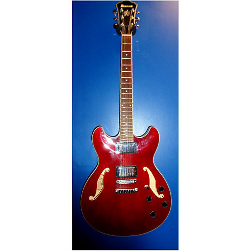 Ibanez As73-tcr-12-01 Candy Apple Red Hollow Body Electric Guitar