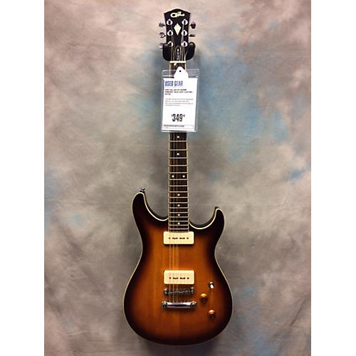 G&L Ascari Solid Body Electric Guitar Brown Sunburst