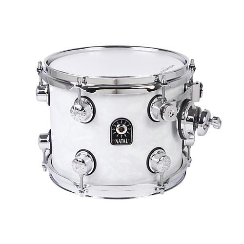 Natal Drums Ash Series Tom Tom White Swirl 10x8