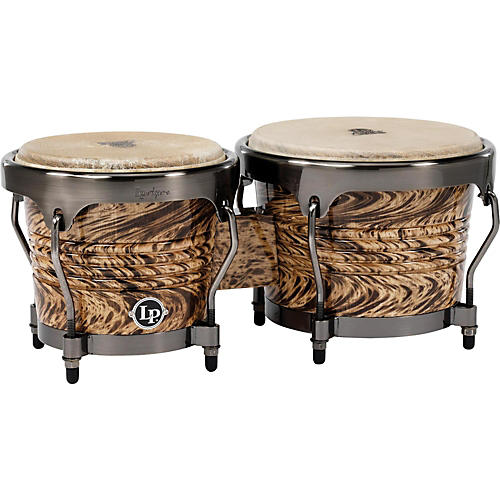 LP Aspire Bongo Set Havana Cafe with Brushed Nickel Hardware