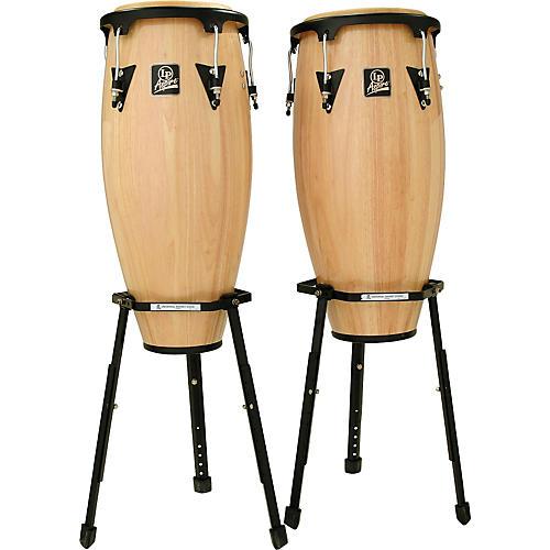 LP Aspire Wood Conga Set W/2 Basket Stands-thumbnail